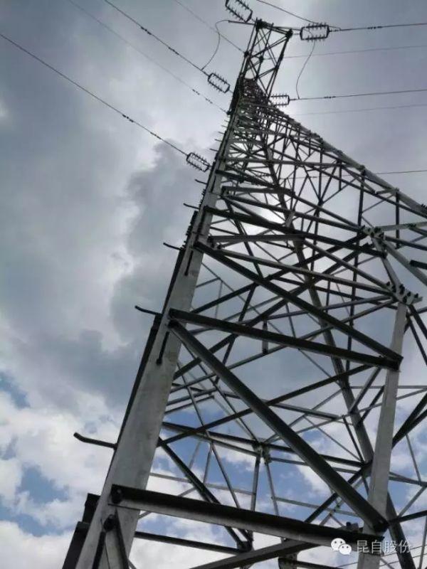 昆自集团师宗石梁山35kv架空集电线路,完成全部总承包